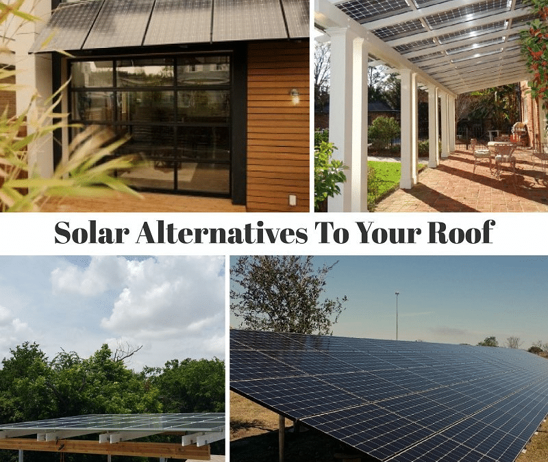 Awnings, Canopies, And Other Solar Alternatives To Your Roof