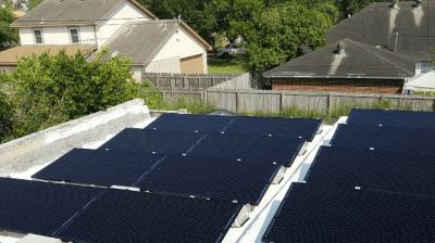 Weslaco Texas Home Solar Panel Install