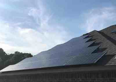 9 kW Solar Panel Installation in Aubrey, Texas