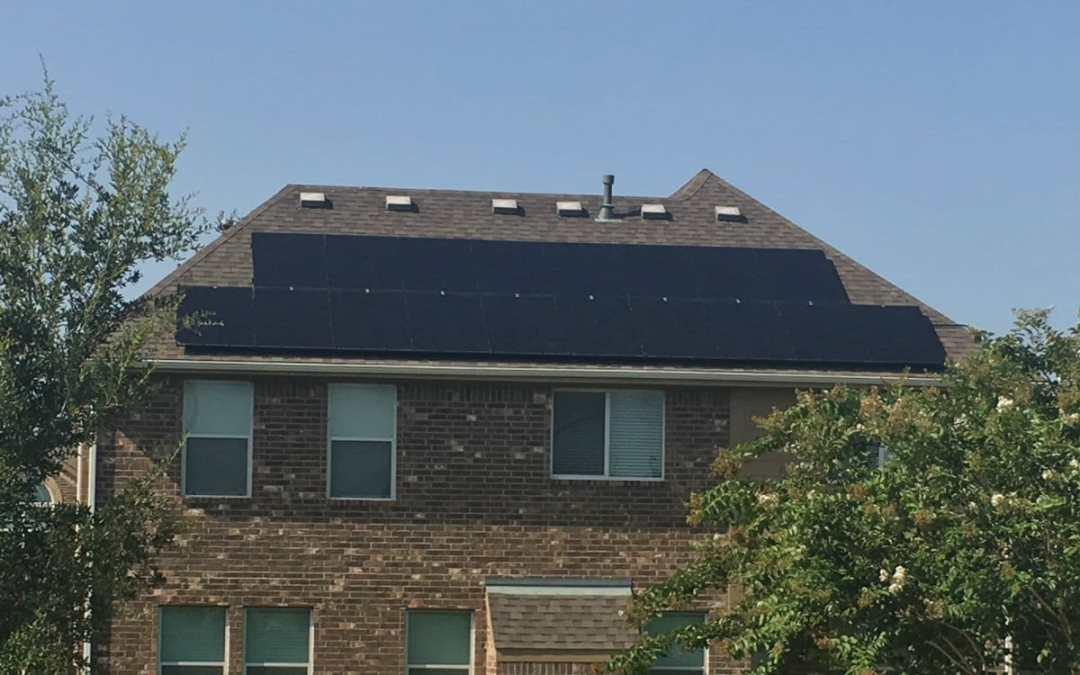 5 kW Solar Panel Install In Cinco Ranch, Texas