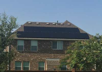 5 kW Solar Panel Install In Cinco Ranch, Texas