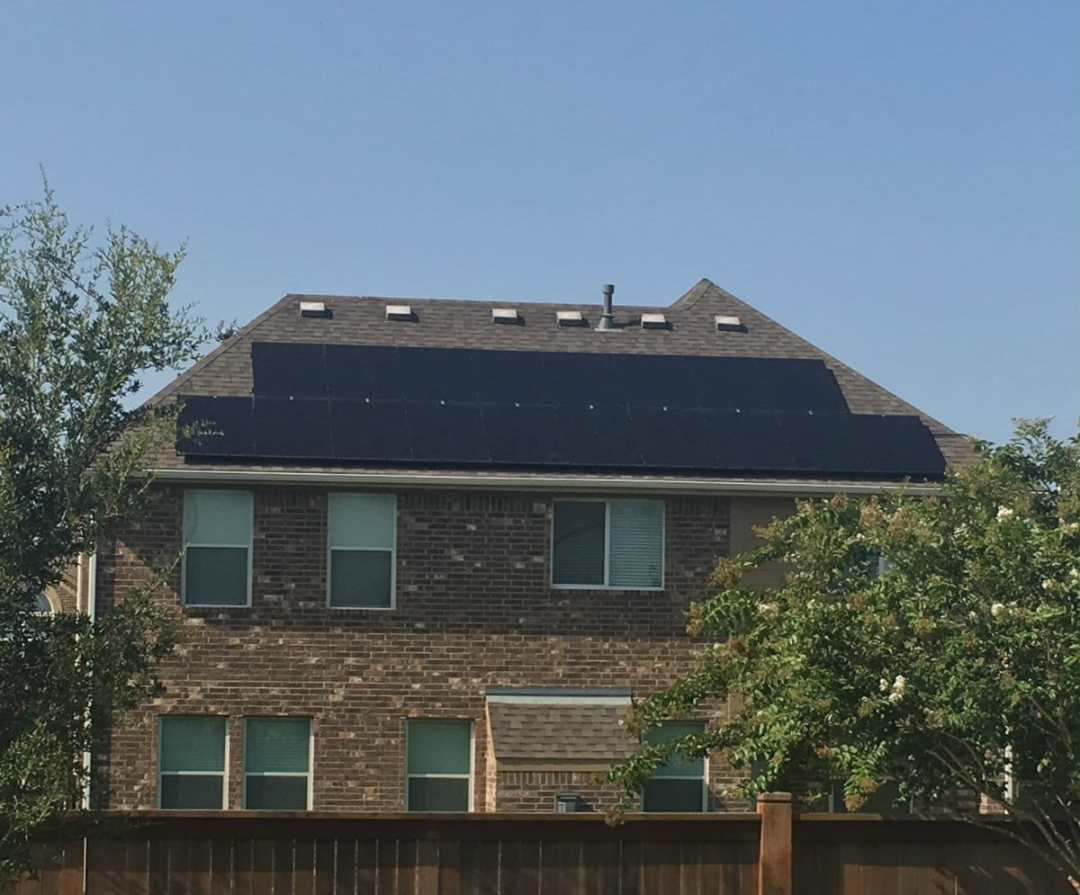5 Kw Solar Panel Install In Cinco Ranch Texas Alba Energy House Wiring Home