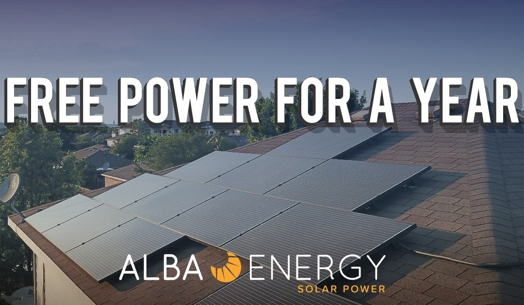 Alba Energy Introduces Free Year Of Power Promotion Alba
