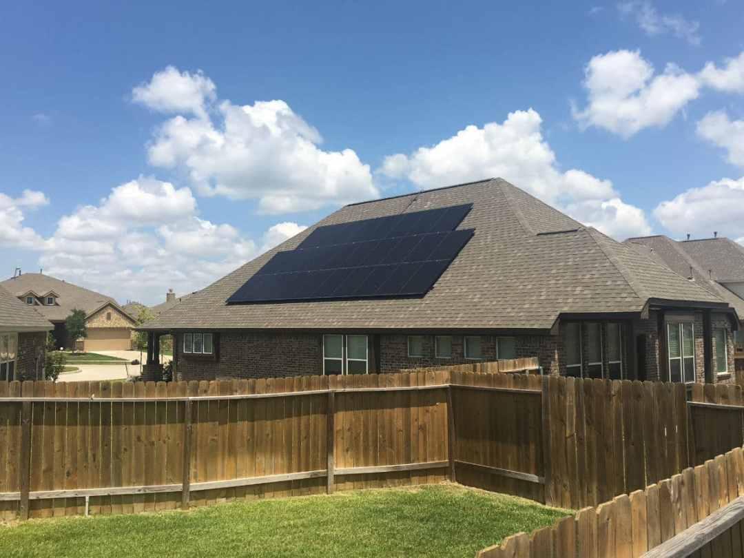 8 Kw Solar Panel Install In Richmond Texas Alba Energy