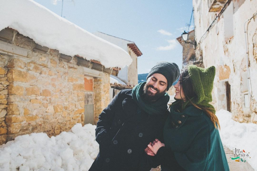 Sesión pareja nieve - Alba Escrivà -6627