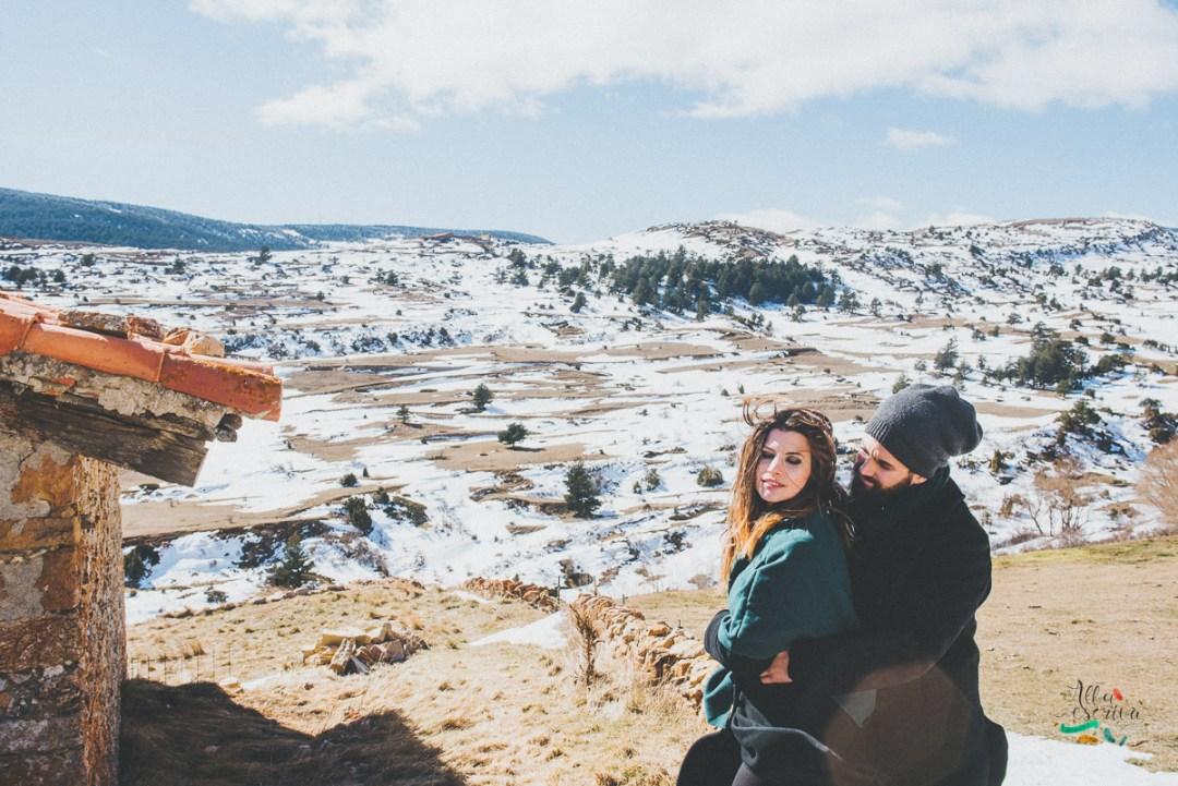 Sesión pareja nieve - Alba Escrivà -6658