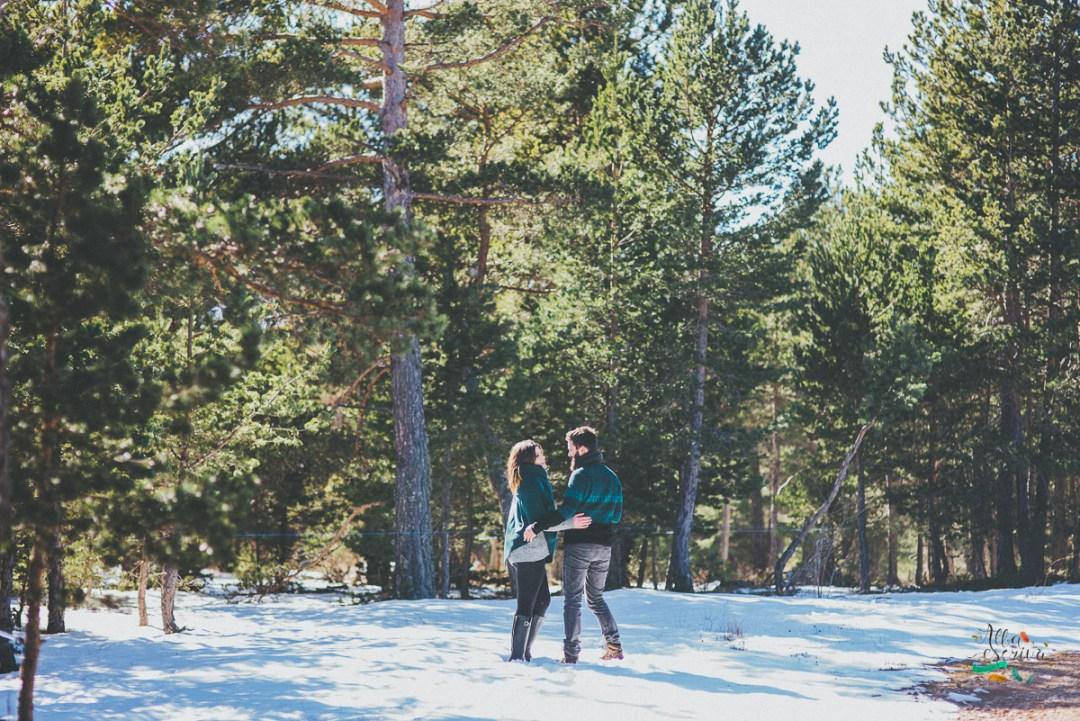 Sesión pareja nieve - Alba Escrivà -6870