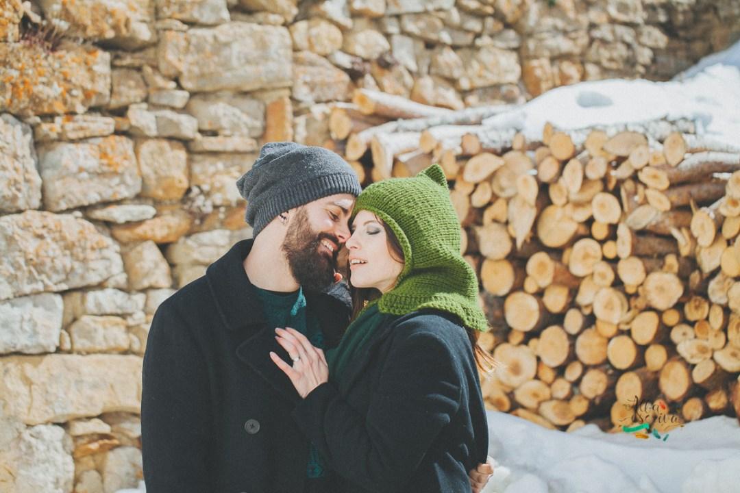 Sesión pareja nieve - Alba Escrivà -6945