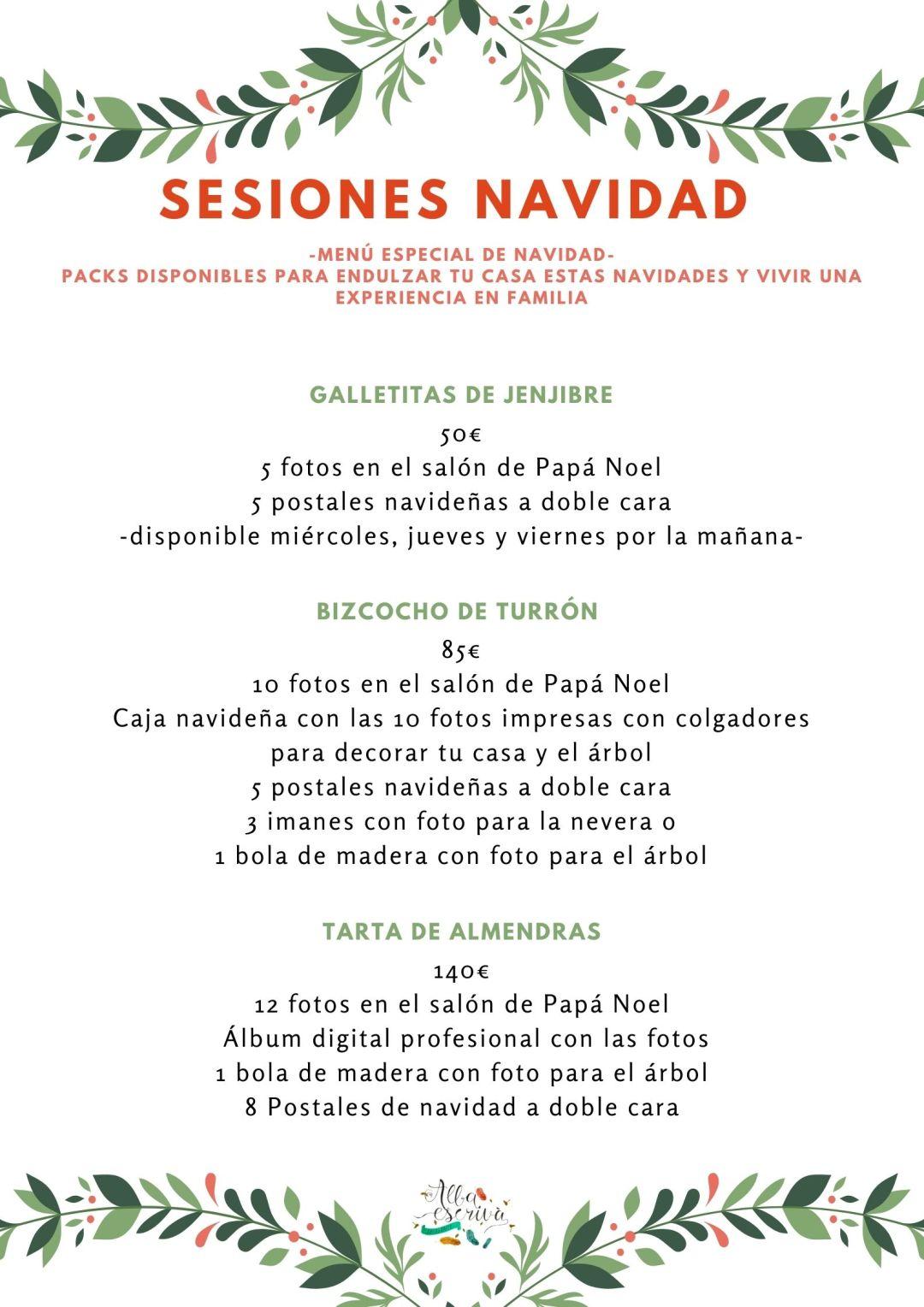 sesiones navidad 2020