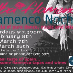 Flamenco Noches at AlbaFlamenca - Spring 2020