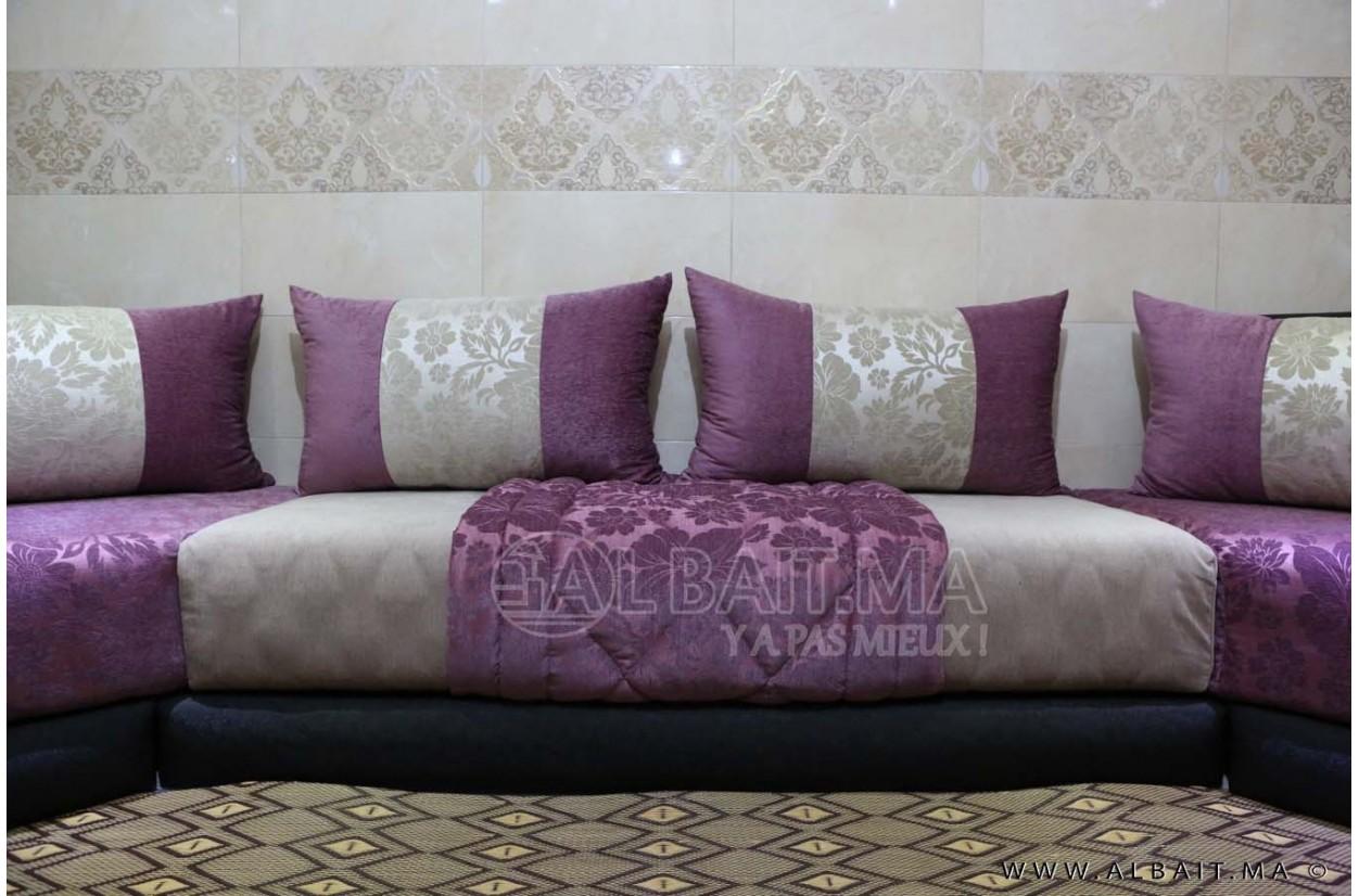 Best Salon Marocain Mauve Ideas - House Design - marcomilone.com