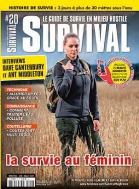 Couverture survival magazine 20