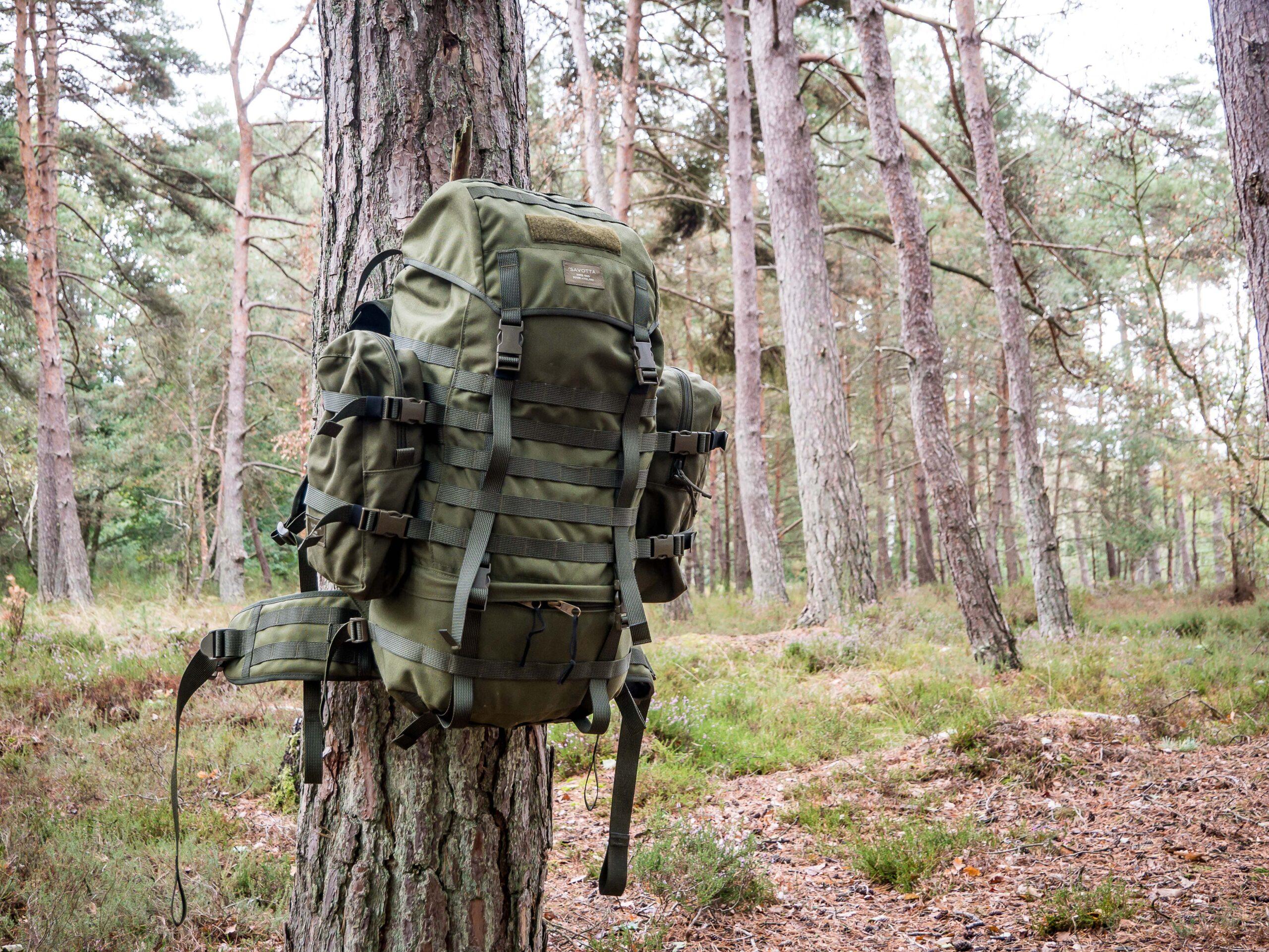 Plein le dos ! Avec le sac Savotta Jääkäri L
