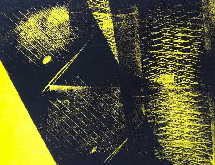Painting by Hans Hartung