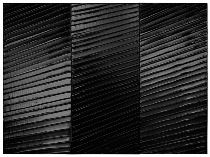 Painting of Soulages