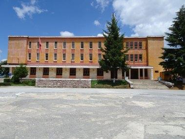Le Palais de la Culture.