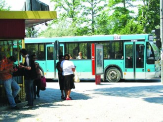 Public transportation Tirana