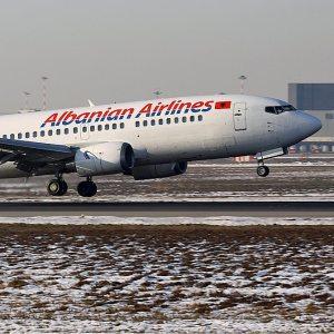 Wo finde ich Informationen über Albanian Airlines?