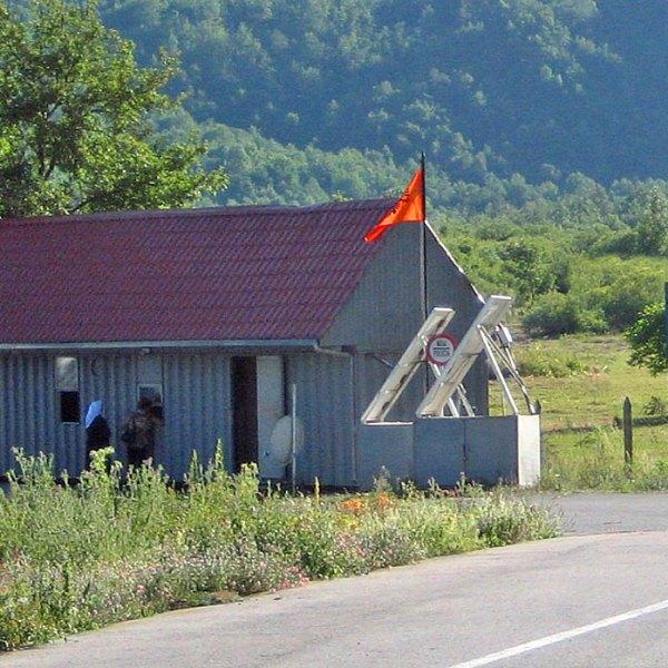Grenzübergänge Albanien