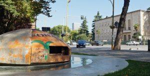 Tirana: Bunker und Ministerrat Albaniens