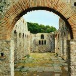 Butrint: Basilika  – UNESCO-Welterbe in Albanien