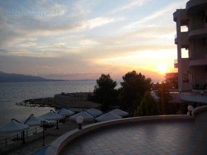 Hotel in Saranda, Albanien