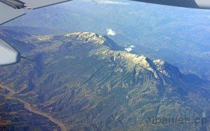 Luftaufnahme Tomorr, Berg in Südalbanien