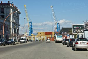 Hafen von Durrës