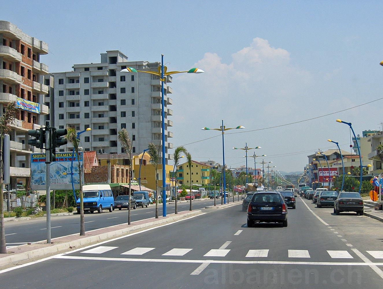 Strasse in Durrës
