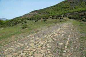 römische Strasse Via Egnatia in Albanien