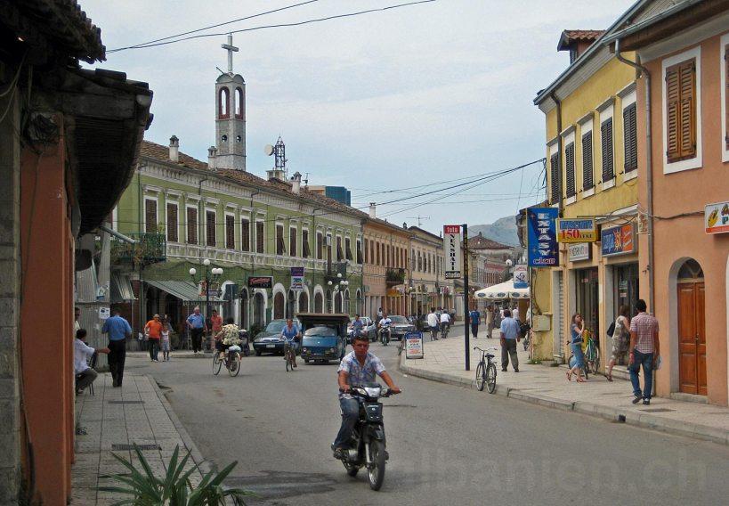 Shkodra, Albanien: Altstadt