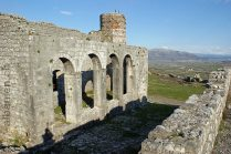 Ruine der Moschee auf der Burg