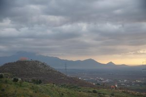 Sapa-Hügel bei Nënshat in der Zadrima