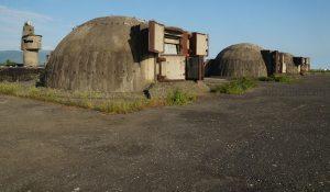 Bunker am Strand von Tale, Albanien