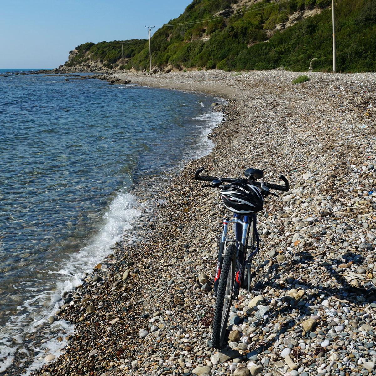 Albanien mit dem Fahrrad