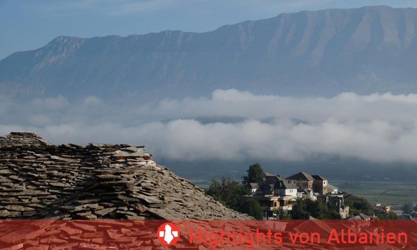 Touristische Highlights Albanien