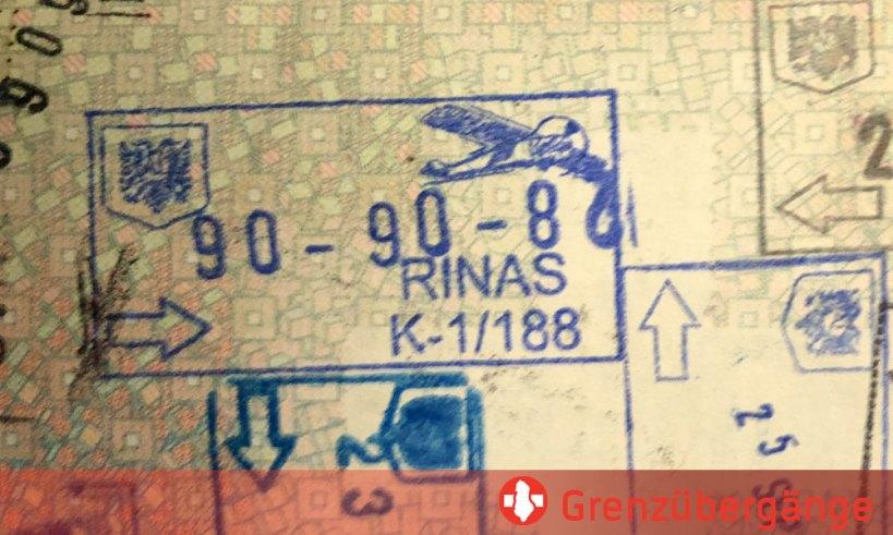 Grenzübergänge zu Albanien