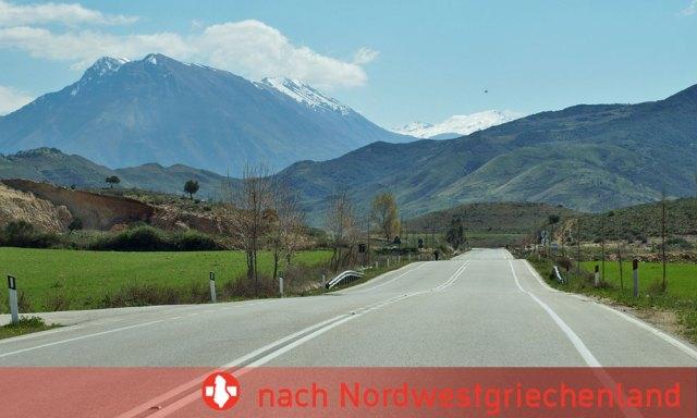 Durchreise durch Albanien von Montenegro nach Nordwestgriechenland