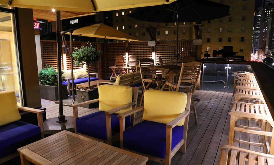 Albany Club Rooftop Lounge