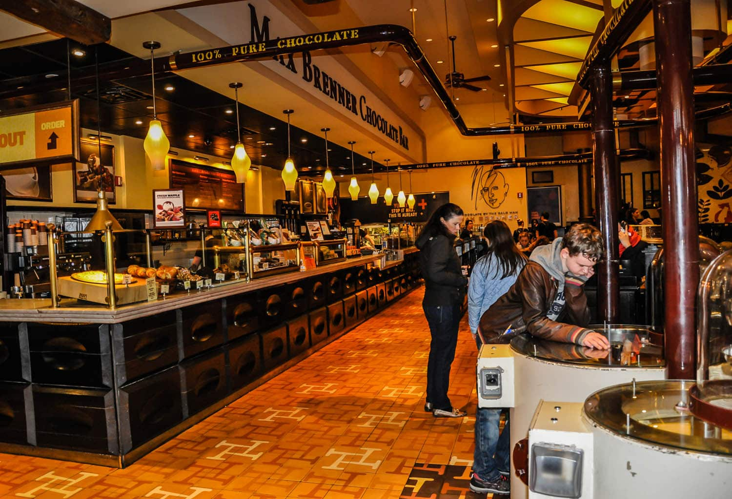 Image result for Max Brenner new york ny usa