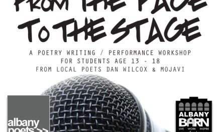 From The Page to The Stage – A Spoken Word Workshop for Teens
