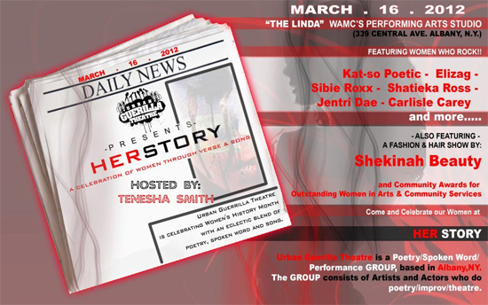 HERSTORY – A Celebration of Women Through Verse, Performance and Song