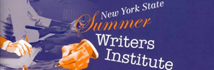 Coming Up at the New York State Summer Writers Institute