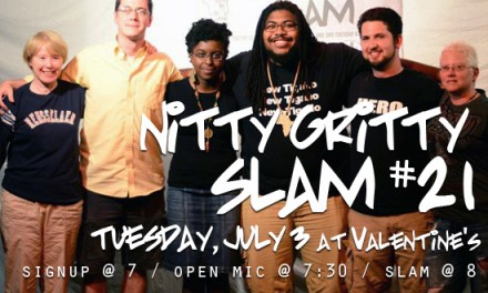 Albany Poets Live at Nitty Gritty Slam #21
