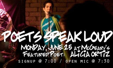 Poets Speak Loud…Live