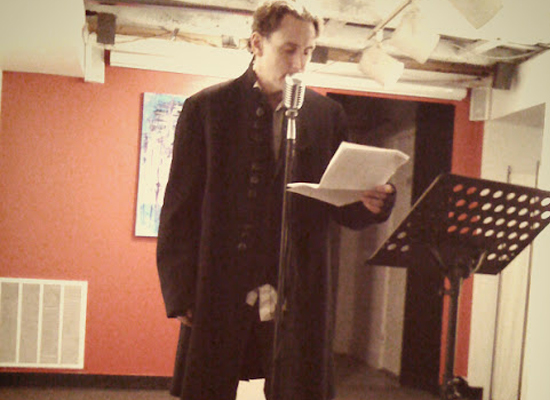 """Saint Poem and """"The Literary Rogue"""" Launch"""