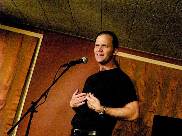 Taylor Mali at Caffe Lena