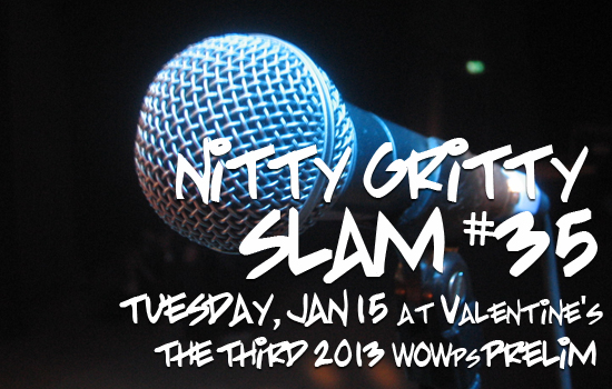 Nitty Gritty Slam #35 – The Third and Final WOWps Prelim and Featured Poet McPherson