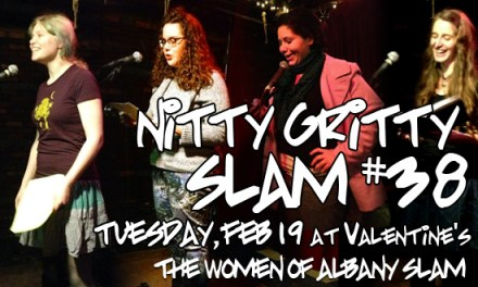 Nitty Gritty Slam #38 – The Women of Albany Poetry Slam at Valentine's