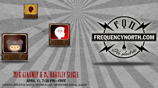 Frequency North with Meg Kearney and M. Bartley Seigel